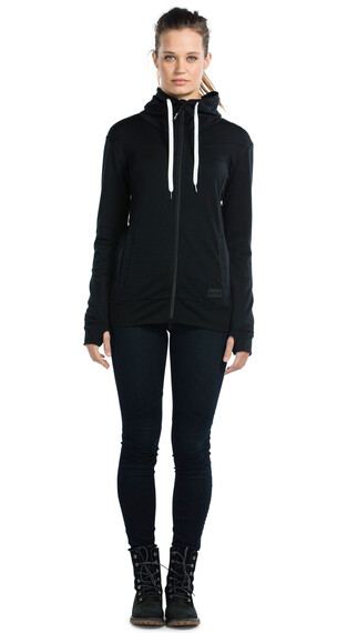 Mons Royale M's Mid-Hit Hoody Black